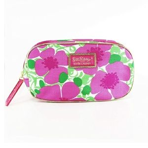 Lilly Pulitzer/ Estee Lauder Floral Make up Bag